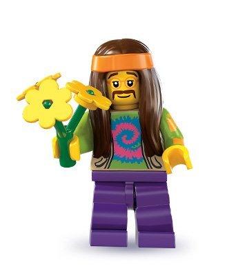 LEGO 8831 - Minifigur Hippie aus Sammelfiguren-Serie 7