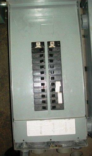 General Electric 125 Amp Panel Board Cat# Tlm2412Rcu