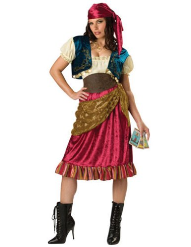 Gypsy Lg Size 12-14 Adult Womens Costume