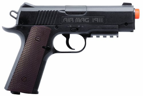 Crosman Air Mag 1911 Black CO2 Powered Airsoft Pistol