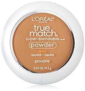 L'Oreal Paris True Match Powder, Classic Tan, 0.33 Ounces