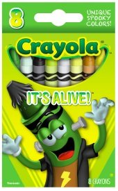Crayola Limited Edition Halloween Crayons: It's Alive! [LIME GREEN] - 1