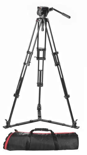 Manfrotto TR546GB with HD501HDV and MBAG90PN Video Tripod Kit