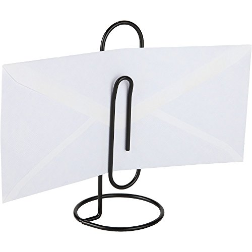Home-X Jumbo Desk Paper Clip Memo Holder & Organizer (Black) (Registered Mail compare prices)