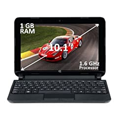 HP Compaq Presario CQ10-688NR 10.1 Netbook Intel ATOM N455 1.66 GHz 1GB Ram 250GB HDD Intel GMA 3150 Windows 7 Starter