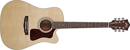 Guild D-40Ce Standard Dreadnought Cutaway Acoustic Electric Guitar - Natural