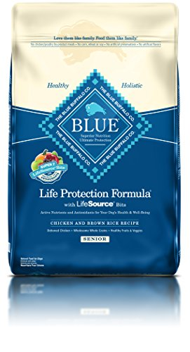 Blue Buffalo BLUE Senior Dog Chicken & Brown Rice 30 lb