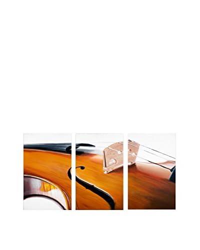 Roderick Stevens Music Store II 3-Panel Art Set