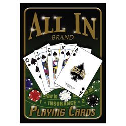 Miscellaneous Novelty-Toys A131 All In Brand Poker Playing Cards - 1