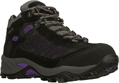 Skechers for Work Women's Twee Boot,Black/Pewter/Black,8 M US