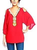 BANDIDA Blusa (Rojo)