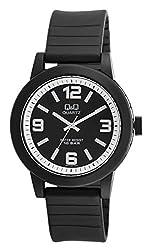 Q&Q Analog Black Dial Mens Watch - VR10J007Y