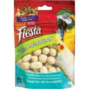 Image of 3 PK Kaytee Fiesta Krunch A Rounds Avian Peanut 2oz (B0094446I0)