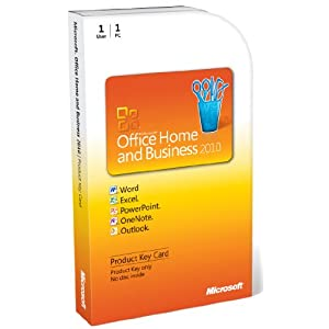 &#36;144.54<br />Buy Microsoft Office Home & Business 2010 by Microsoft Software (Key Card and 1PC for 1User) - MS Office Business and Home 2010 mixes the functions involving owning a small business, managing a home in addition to assisting do homework. Obtain the use of all the programs you ought to be effective as well as Ms Outlook 2010--so you possibly can undertake your busy day time successfully using highly effective e-mail, timetabling and to social network tools to maintain your living and business to perform with synchronize.<br /><br />Source: buymicrosoftofficeonline.blogspot.co.at/2012/07/buy-microsoft-office-home-business-2010.html
