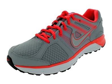 Nike Women's NIKE ANODYNE DS WMNS RUNNING SHOES 6 Women US (WLF GRY/MTLC PLTNM/WHITE/MDM V)