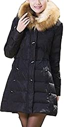 Elegant Lady Long Sections Cotton Garments Coats Jackets