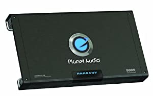 Planet Audio AC5000.1D 5,000-Watt Max Power Class D Monoblock Power Amplifier from Planet Audio