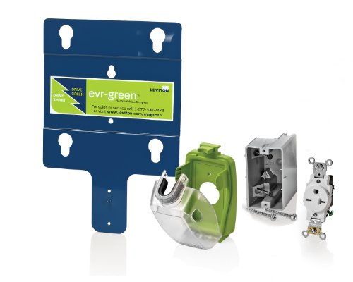 Leviton EVK02-M Evr-Green Installation Kit for Home Charging Station (EVB22 - 16A, 240V)