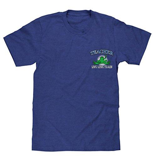 peace-frogs-teacher-short-sleeve-licensed-t-shirt-large