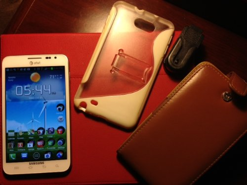 Samsung Galaxy Note SGH-I717 White AT&T 4G LTE