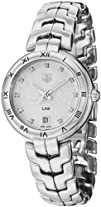 Tag Heuer Link Diamond Silver Guilloche Stainless Steel