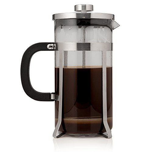 French Press Coffee Maker -VIDEO BONUS- Stainless