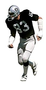 Ted Hendricks Oakland Raiders NFL Fathead REAL.BIG Wall Graphics by Fathead