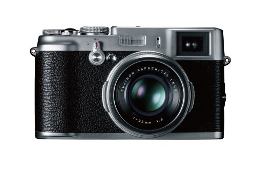 Fujifilm FinePix X100 Digital Camera - (12.3MP, APS-C CMOS EXR) 2.8 inch LCD