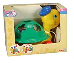Simba Play and Learn Mrs Turtle Pull Along, Multi Color