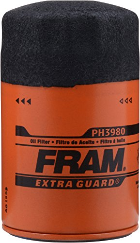 Fram PH3980 Extra Guard Passenger Car Spin-On Oil Filter (2001 Silverado Oil Filter compare prices)