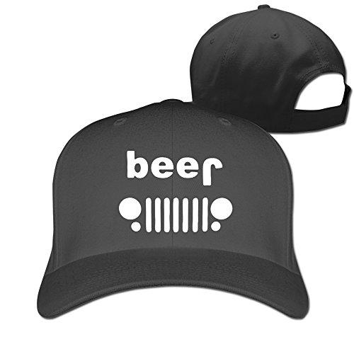 Beer Jeep Funny Drinking Baseball Snapback Cap