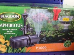 Blagdon Amphibious P3000 Pond Pump