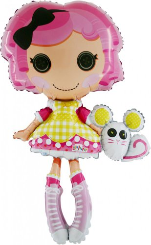 42 Inch Lalaloopsy Foil Shaped Balloon (CS57) [Toy]