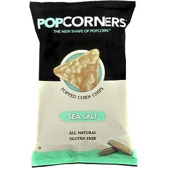 Popcorners Sea Salt Popcorn Chips 1.1 oz. (Pack of 8)