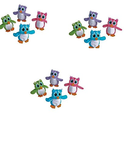 5'' Assorted Colors OWLS