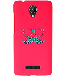 KolorEdge Back Cover For Micromax Canvas Spark Q380 - Pink (1891-Ke15102MmxQ380Pink3D)