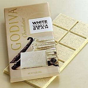 Godiva White Vanilla Bean Bar 100g (5-pack)
