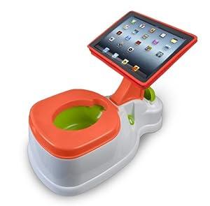 CTA Digital PAD-POTTY - Accesorio para dispositivos portátil (Verde, Naranja, Color blanco)