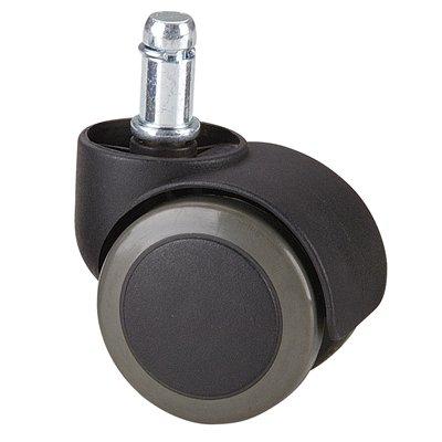 Rolland Office Chair Caster Wheel for Hardwood Floor - Stem Diameter: 11mm, Stem Length: 22mm - 5 Unit/Pack