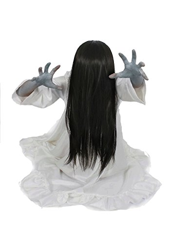 [Ring Samara Costume with a Wig the Universal Size Milica Books(r)] (Samara The Ring Costume)
