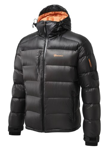 Bear Grylls by Craghoppers Men's Arctic Down Jacket,Black Pepper/Black,Medium
