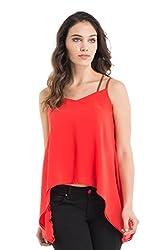 Kazo Women's Peplum Shirt (112721FLMSTM)