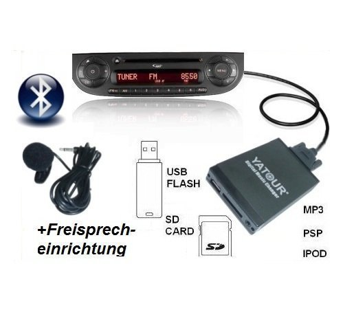 Bluetooth BT AUX Adapter Interface USB SD