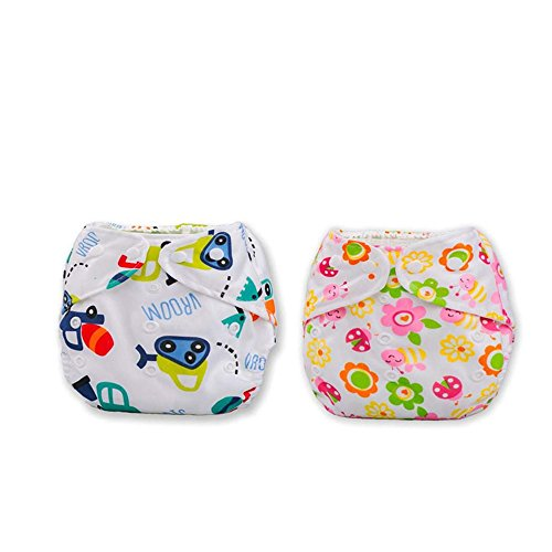 Losorn (TM) 2 PCS Baby Training Pants Cloth Diaper Nappy Nappies Diapers (A3)