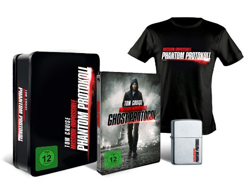 Mission: Impossible - Phantom Protokoll (Steelbook Collector's Edition / exklusiv bei Amazon.de) [Blu-ray]