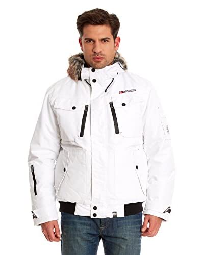 Geographical Norway Giacca Clovis [Bianco]