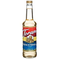 Torani French Vanilla Syrup 750mL