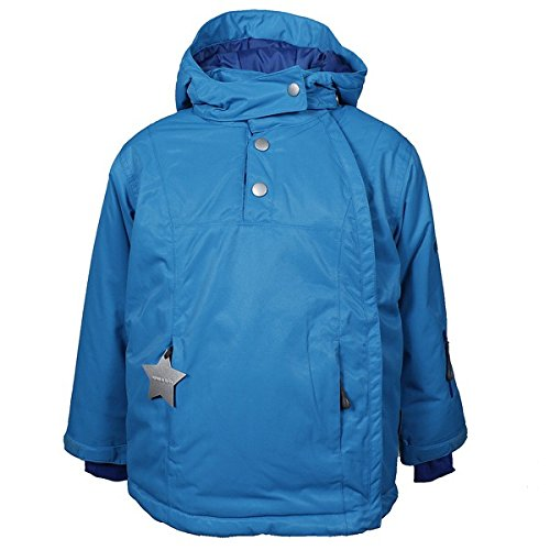 MINI A TURE Mason Winterjacke diva blue, Größe:110 cm/4 J