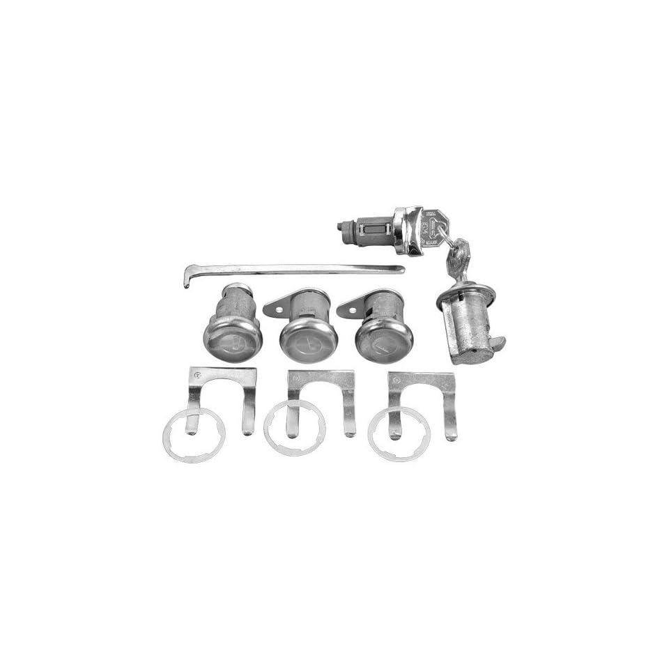 New Chevy Impala Lock Set   Ignition, Door (short cyl. & pawl), Glovebox, Trunk 63