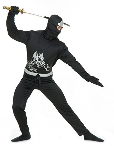 Black Ninja Avengers Series II Adult Costume